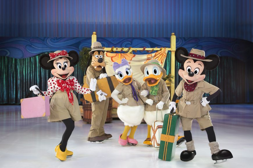 Disney On Ice Presents Passport to Adventure in Dubai this April