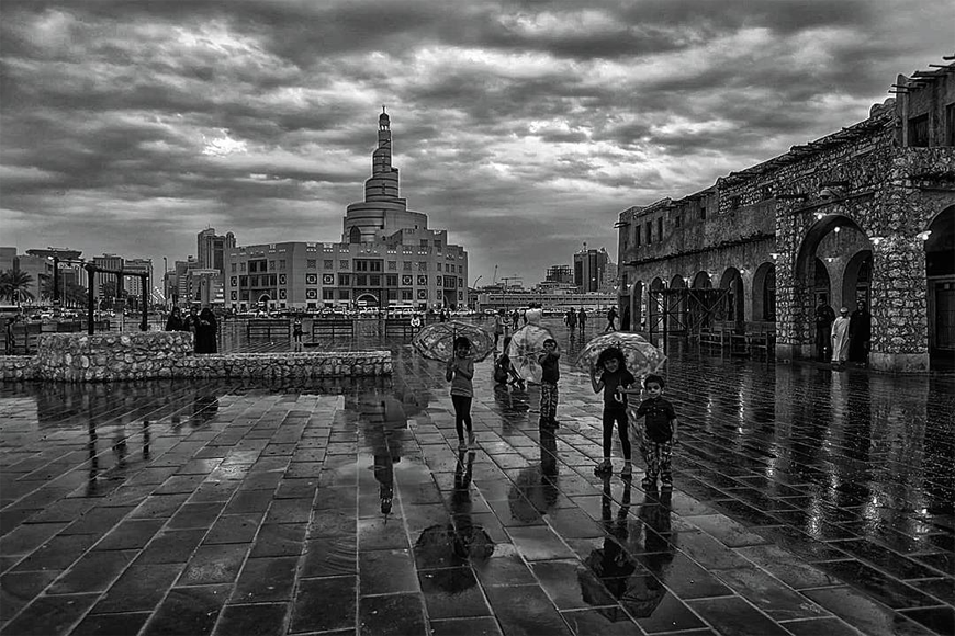 In Pictures: Rain in Qatar is Both Disastrous and Beautiful