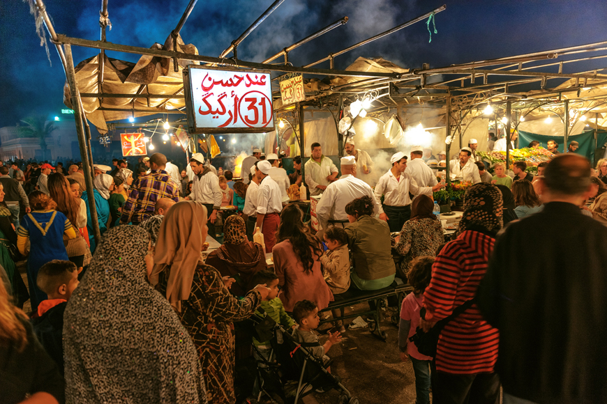 Traditional markets in Oman