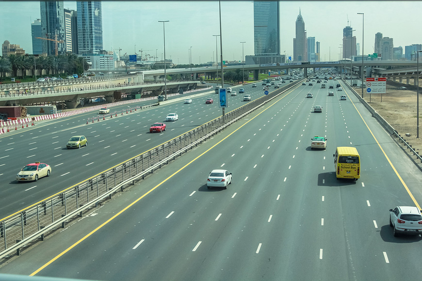 RTA Announces Traffic Diversions on Sheikh Zayed Road in Dubai
