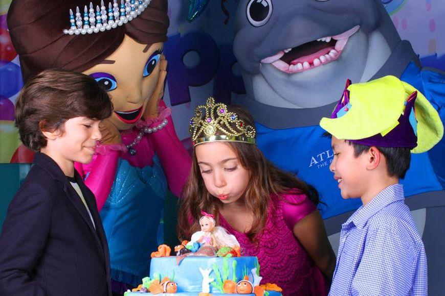 Kids Birthday Parties in Dubai at Atlantis The Palm
