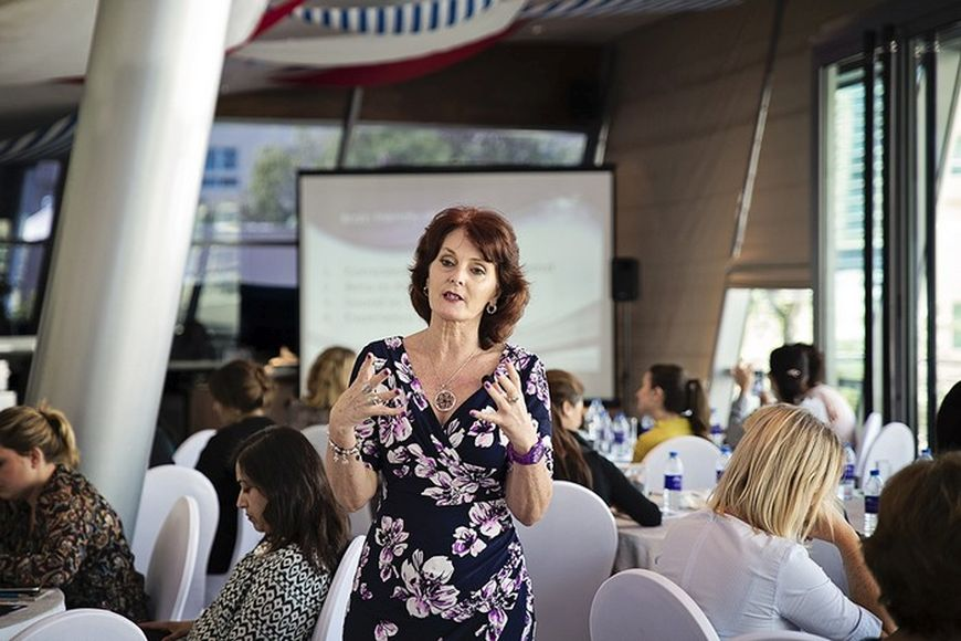 The ExpatWoman HR Breakfast with Carol Talbot
