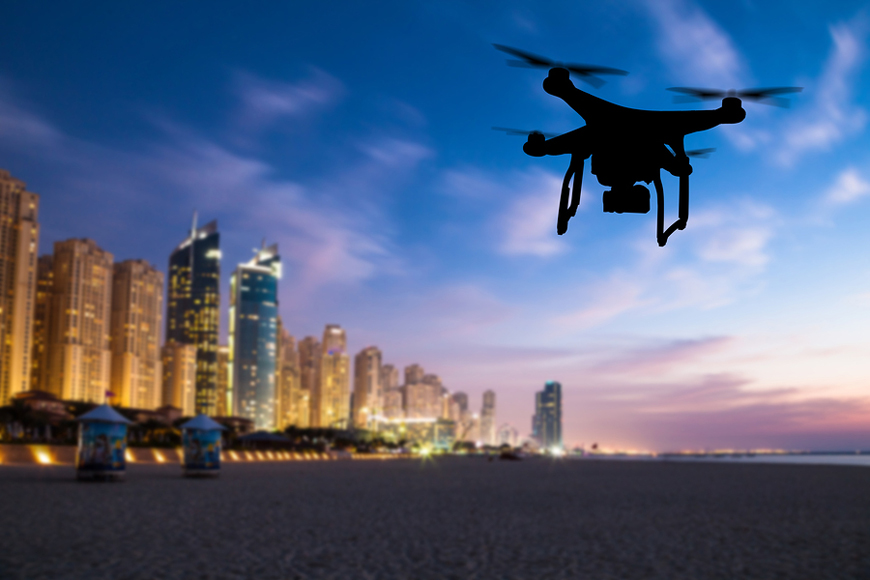 New Rules for Flying Drones in Dubai