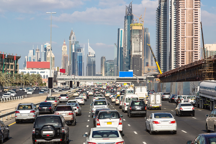 New Radars to Catch Lane Violators in Dubai