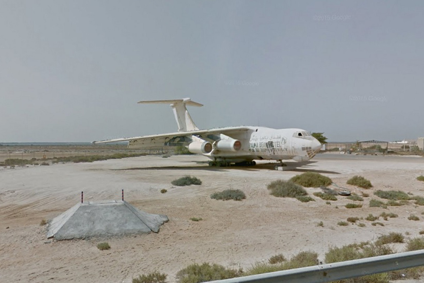 The Story Behind the Abandoned Plane in Umm Al Quwain