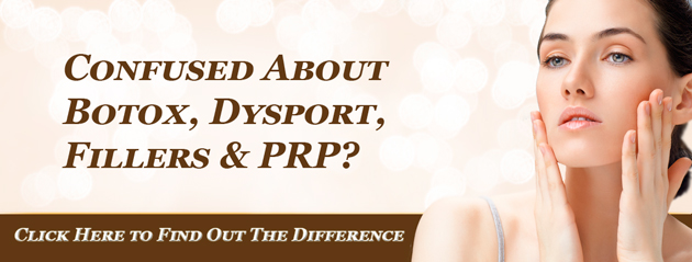 Confused about botox, dysport, fillers and prp?