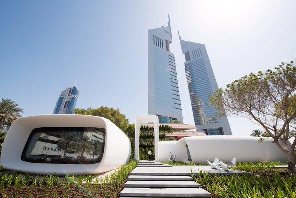 Dubai 3D printed offices