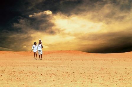 Desert Climate in Oman