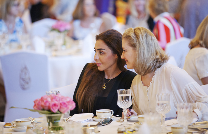 The expatwoman annual burj al arab breakfast event 2