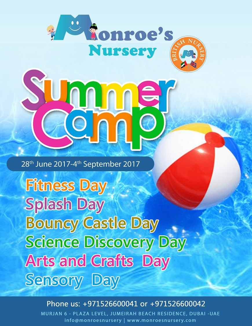 Monroe's Nursery Summer Camp