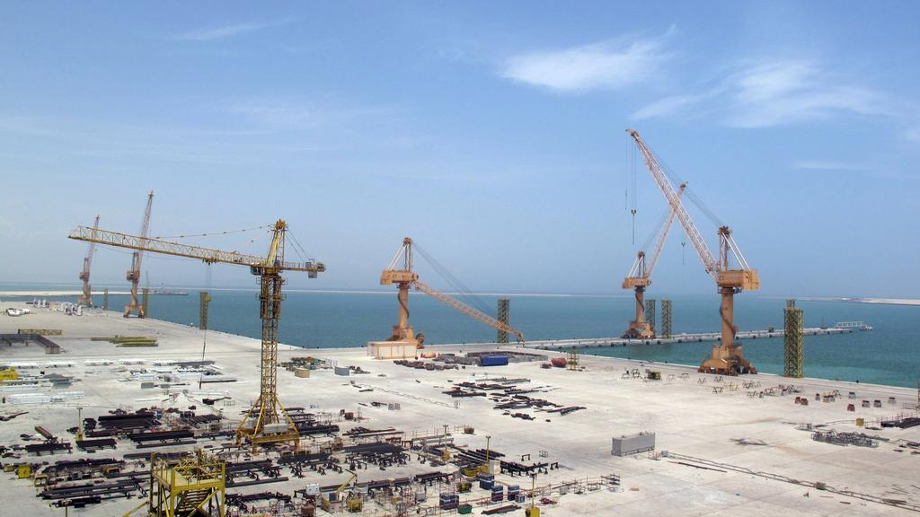 Sino-Oman Industrial City is to be built at Oman's Port of Duqm