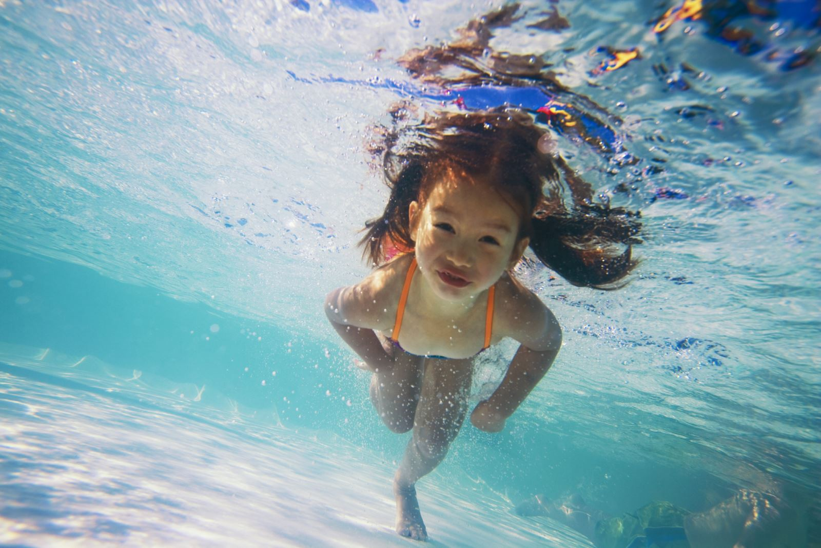 Swimming after school activity in Qatar