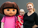 Meet Dora in Yas Island