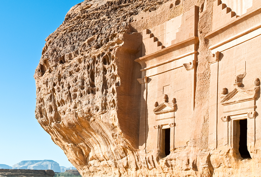 Saudi Arabia Madain Saleh