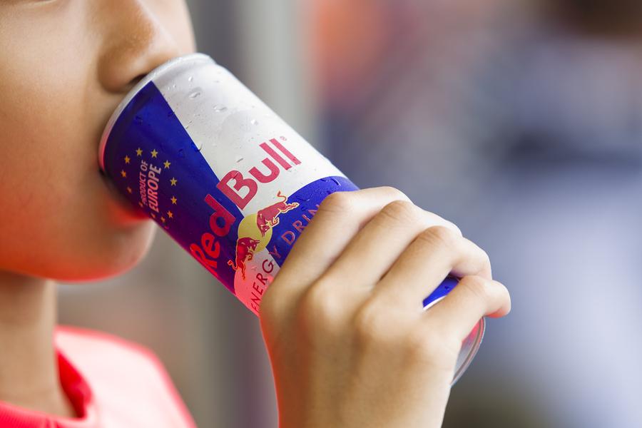 Drinking energy drink