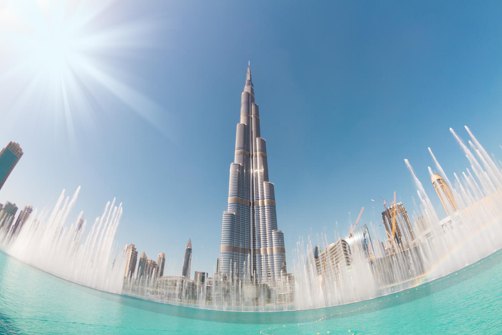 Burj Khalifa and the Dubai Fountain
