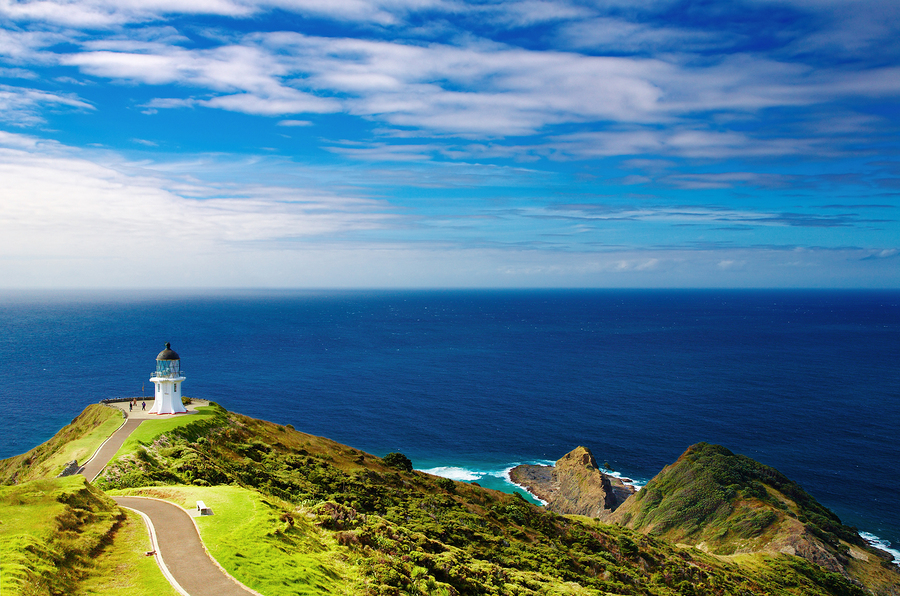 Cape Reinge Lighthouse, New Zealand