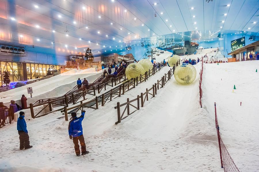 Ski Dubai teen activities