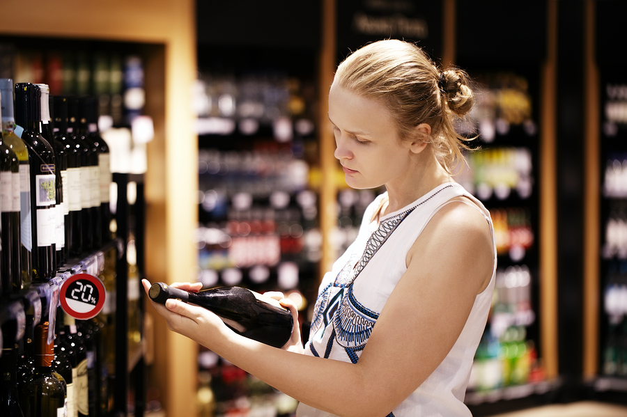 Purchasing wine