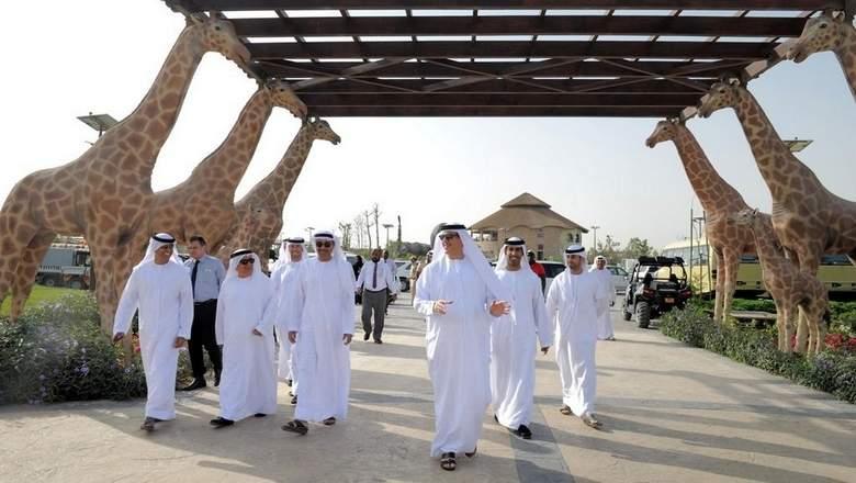 Dubai Municipality officials at Dubai Safari