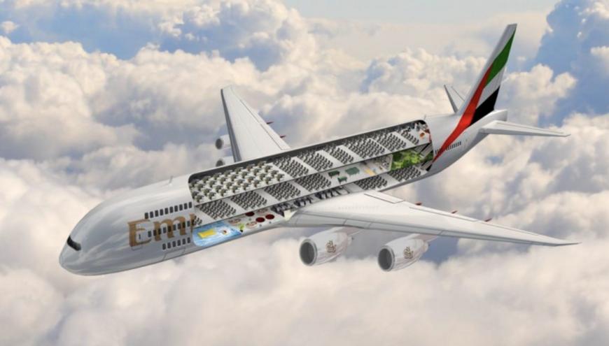 Emirates Airline april fools prank 2017