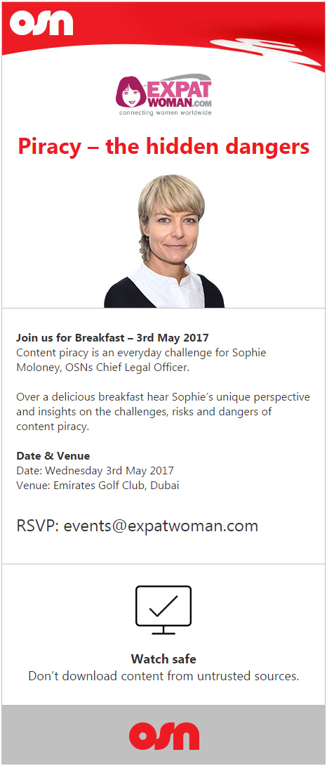 OSN Breakfast with ExpatWoman