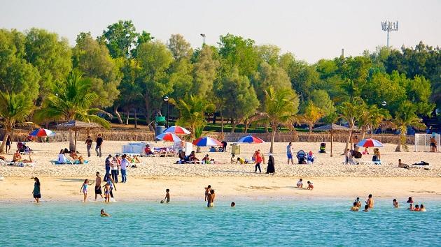 mamzar beach park / dubai top parks
