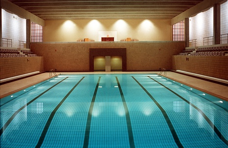 Swimming pool at DQSC