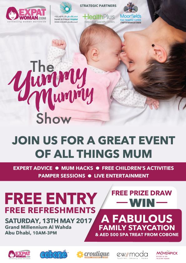 ExpatWoman's Yummy Mummy Show 2017