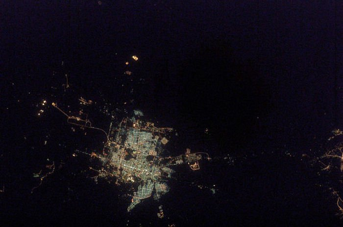 Saudi from space
