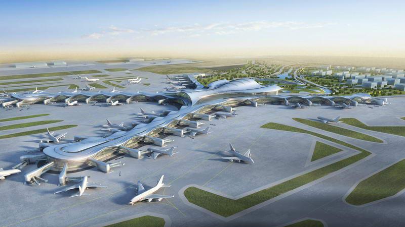 abu dhabi new airport terminal