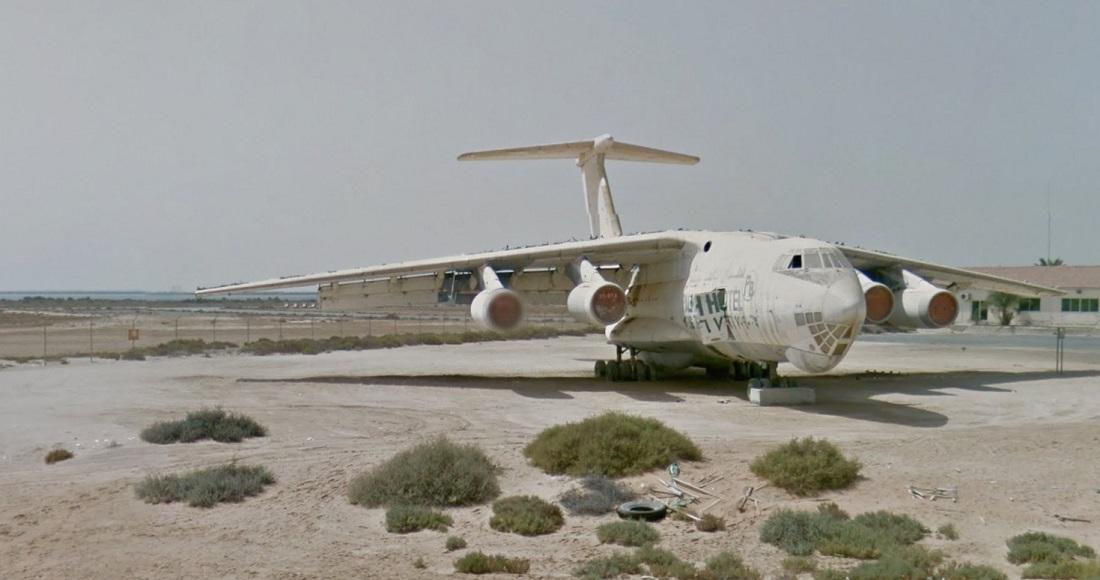 Umm Al Quwain abandoned plane 2