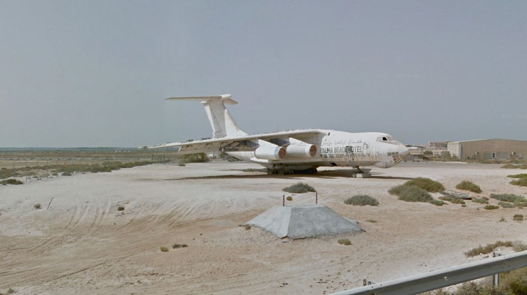 Umm Al Quwain abandoned plane 3