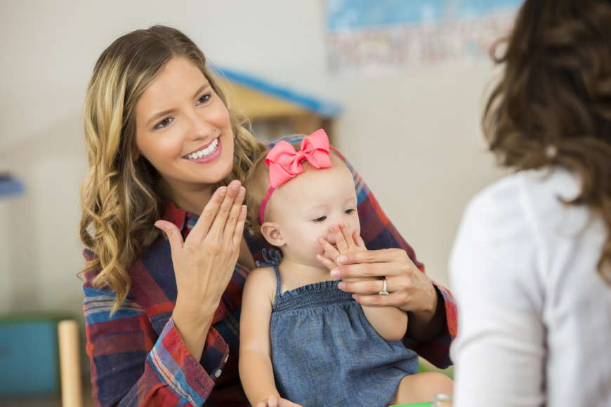 How Sign Language Can Benefit All Children in Early Years Settings