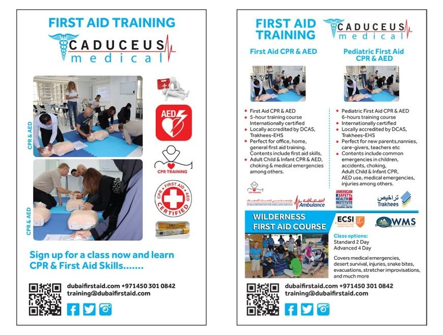 Caduceus First Aid Training