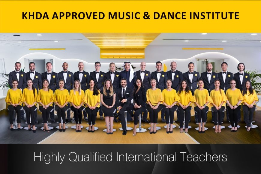 Welcome to Melodica Music & Dance Institute in Dubai