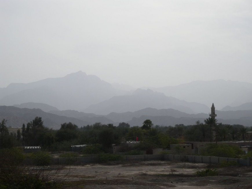 Julfar, north of the city