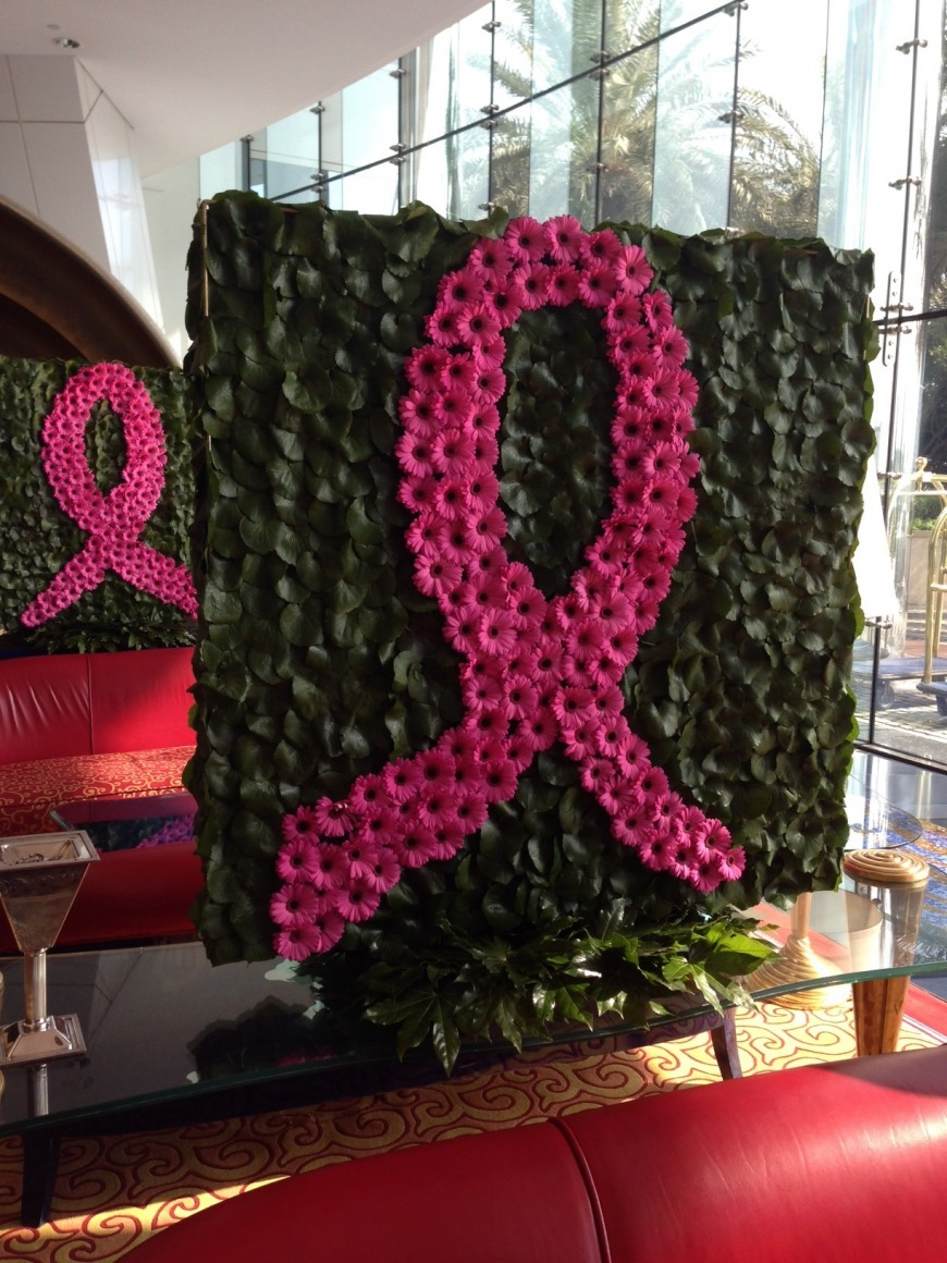 Breast Cancer Awareness Month at the Burj Al Arab