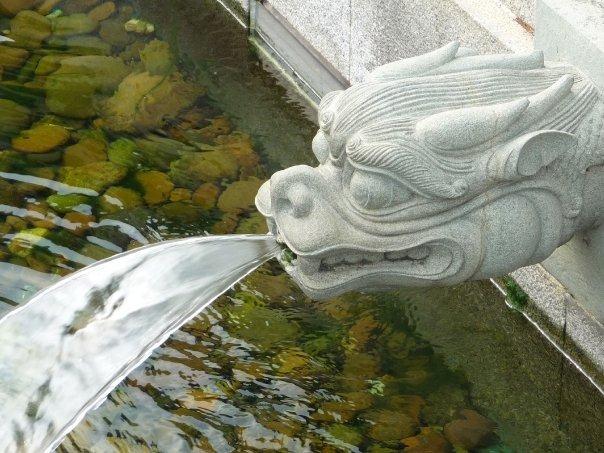 Water feature in Nan Lian Garden