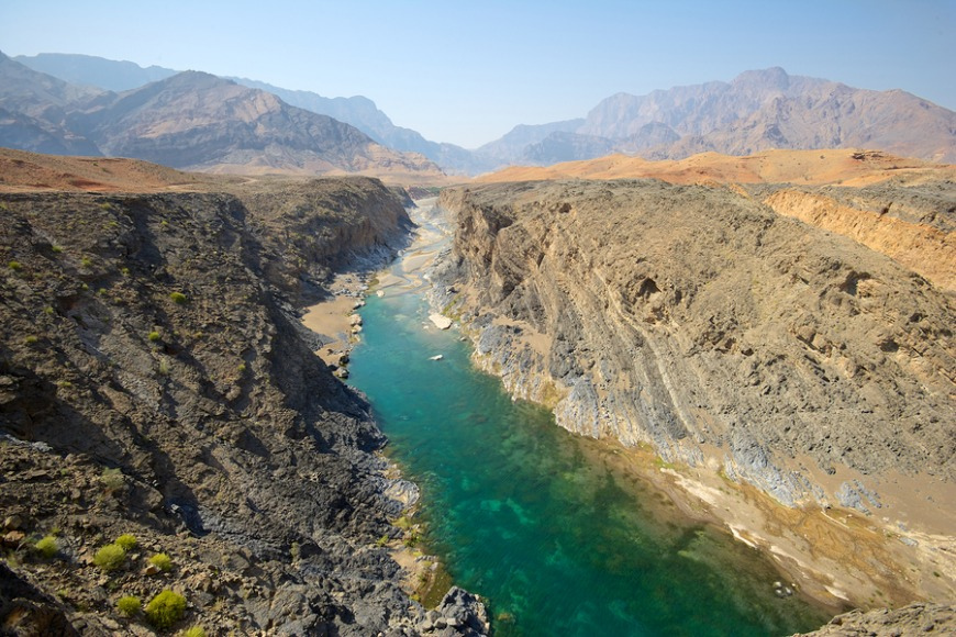 Oman... Less than an hour flight away, and there's plenty to see! Mountains, hillsides, wadis and more!