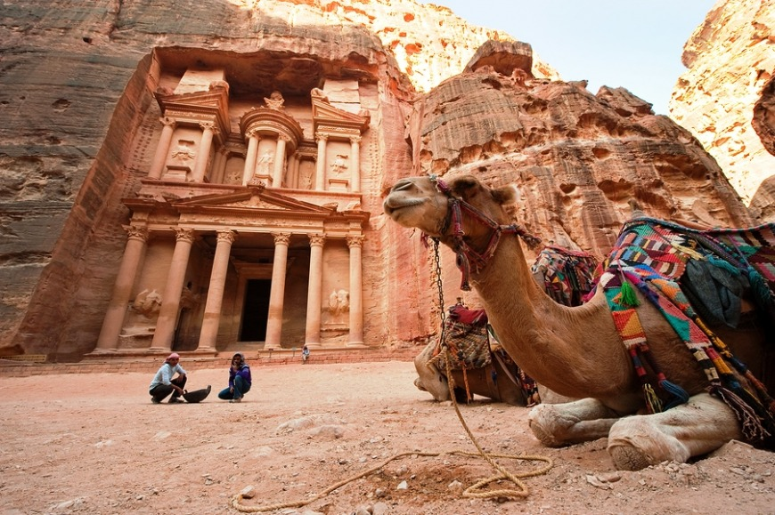 Jordan... In just three hours, you'll be able to visit this magical place with lots to see and do! The Dead Sea, Petra and traditional mud baths galore!