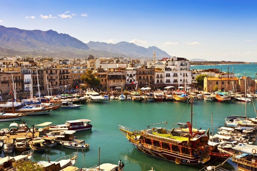 Cyprus... Enjoy island life where east meets west! Great history and lots of monuments to explore
