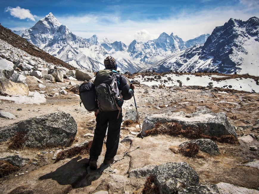 Nepal... Head to a yoga retreat, or if you're adventurous, climb to the first base camp of Mt Everest!