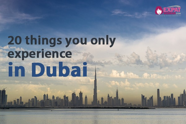 20 things you only experience in Dubai