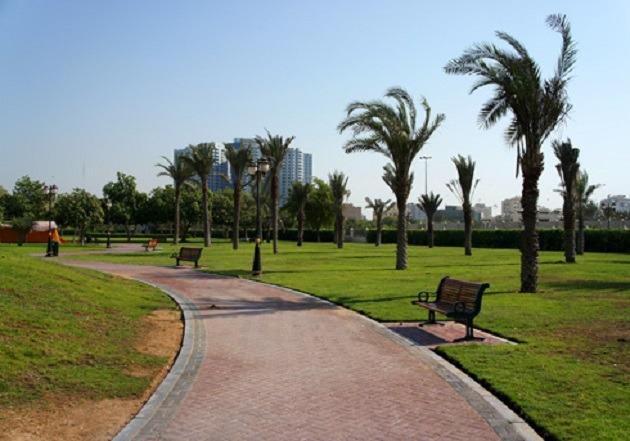 8. Al Rashidiya Park
