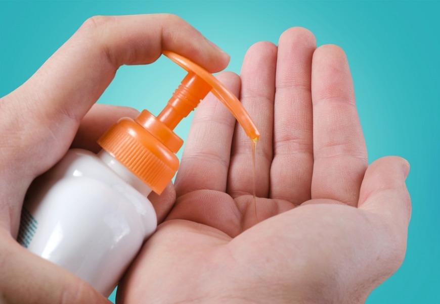 2. Hand sanitiser