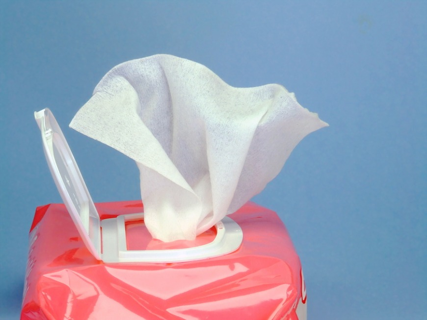 7. Wet wipes
