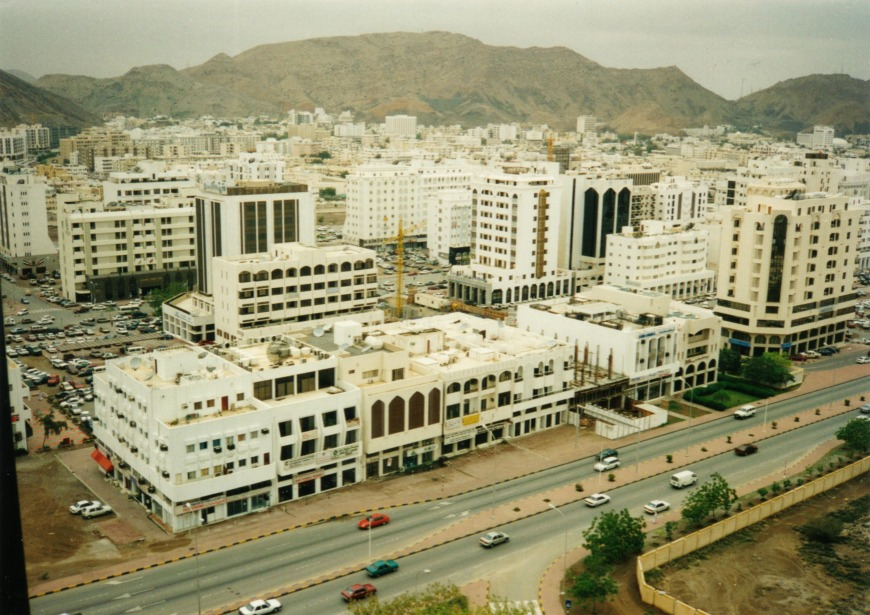 Known as the business district, Ruwi has more affordable housing prices and is one of the oldest districts in Oman. Photo Credit: wikimedia