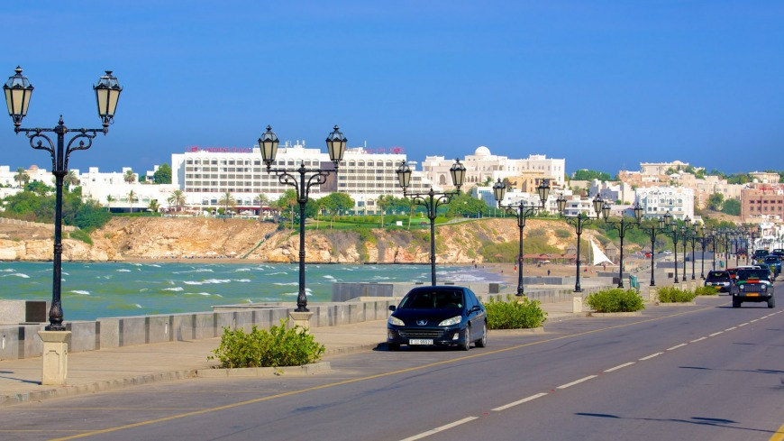 Located right off the ocean, Shati Al Qurm is likely the most lavish area in Muscat and is considered one of the priciest places to live. Photo Credit: travel-assets