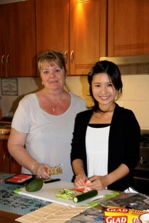 Meet Naghisa, she's originally from Japan and has previously lived in the USA and Qatar